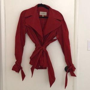 Burberry Rain Jacket - Red